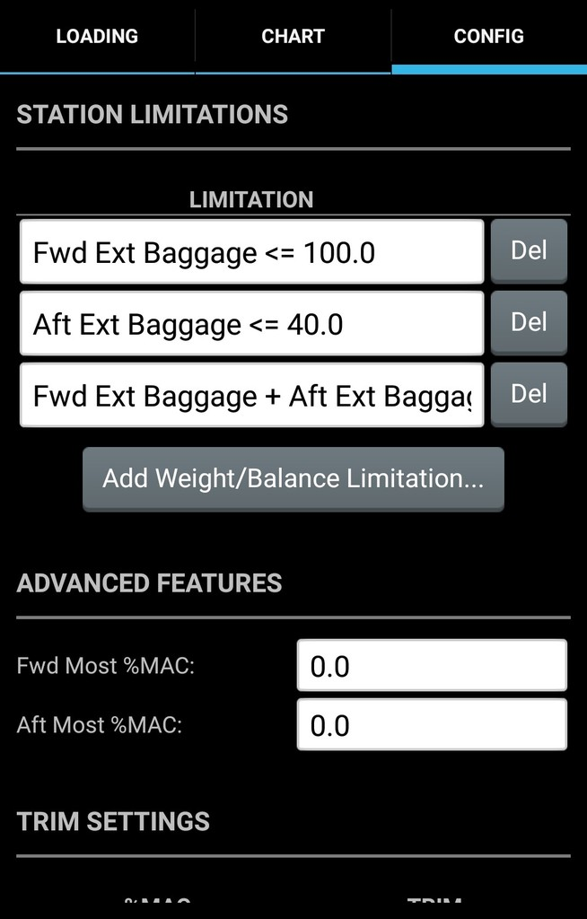 Droidefb Weight And Balance Tutorial Droidefb