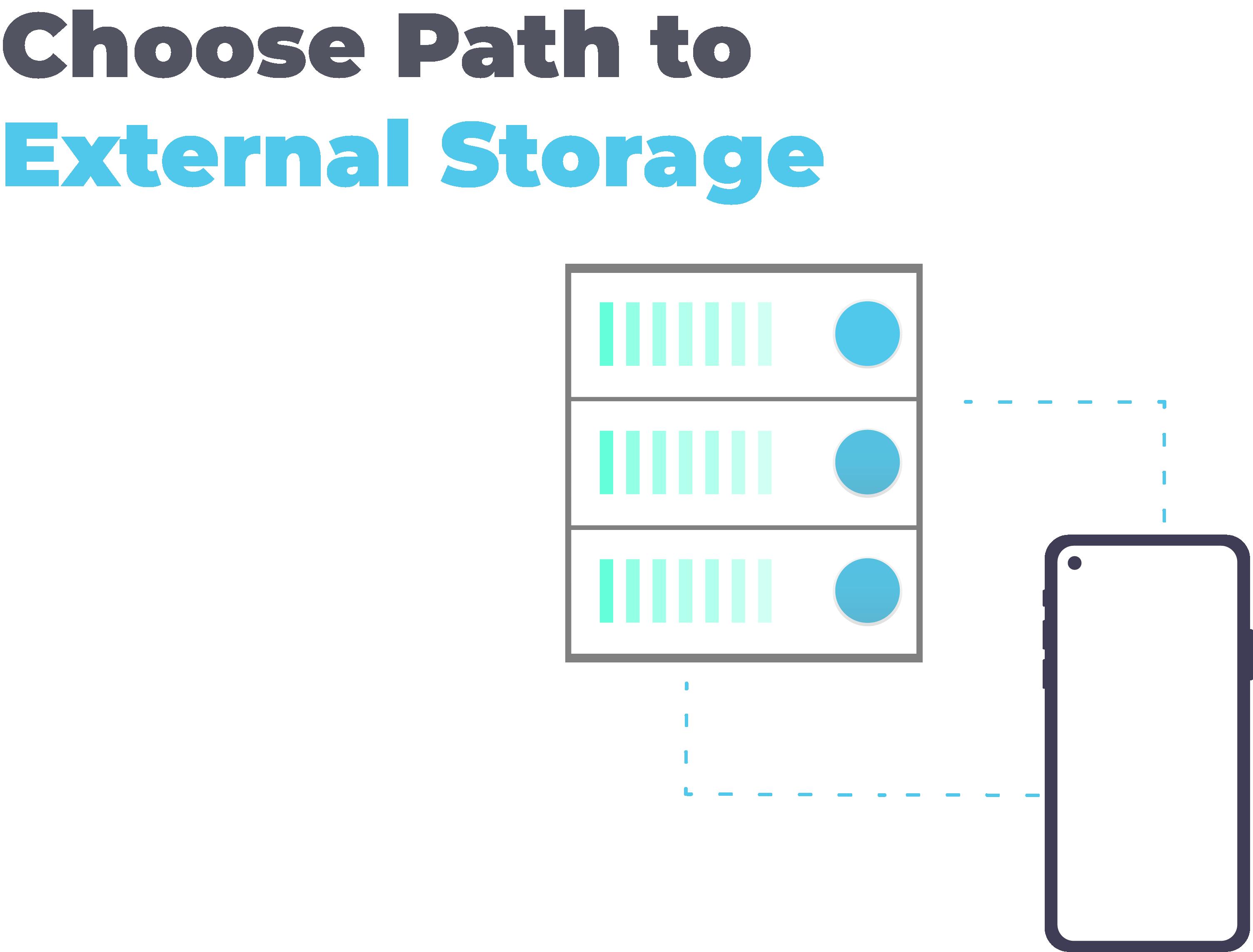 Choose Path to External Storage